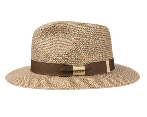 Stetson 'Reedley' Toyo Traveller in Brown