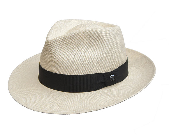 Vintimilla Grade 4 Natural Coloured Panama Fedora