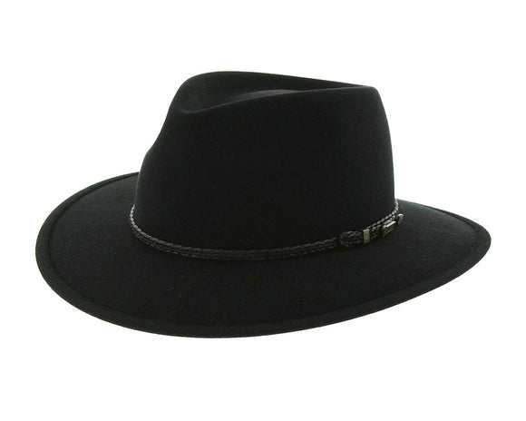 Akubra 'Traveller' in Black