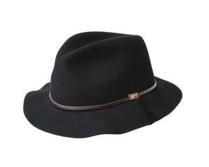 Bailey 'Jackman' Fedora in Black