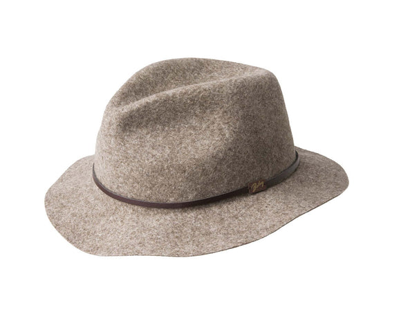 Bailey 'Jackman' Fedora in Woodland Mix