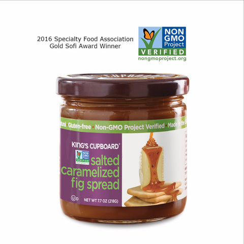 Salted Caramelized Fig Spread (Non-GMO Project Verified)