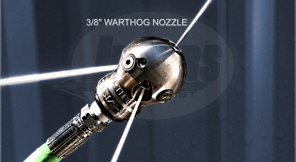 Warthog Sewer Jetter Nozzles