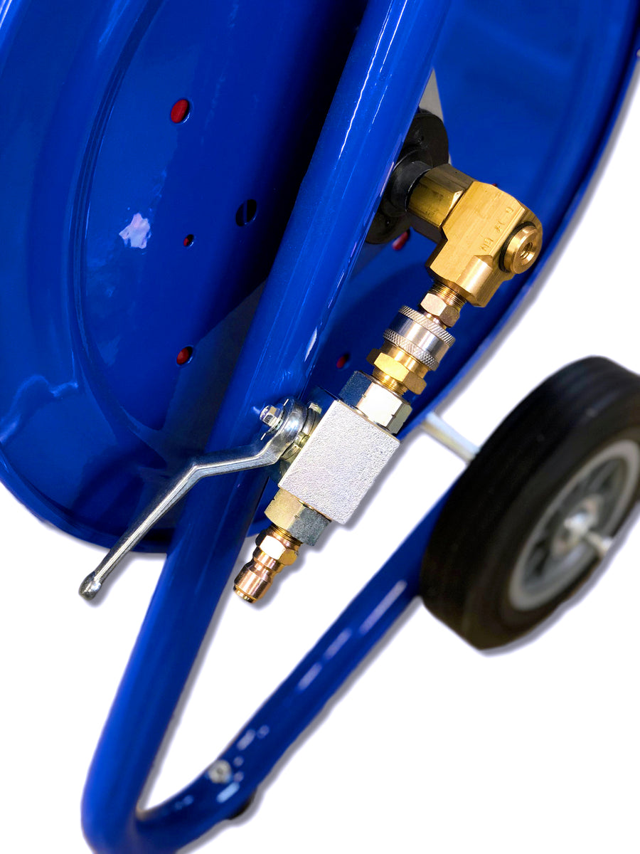 """Electric Trailer Dolly >> Portable Dolly Reel (1/4"""" or 3/8"""" X 200' Jetter Hose ..."""