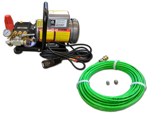 Jetters Northwest 1.5 HP Hand-Carry Electric Sewer/Drain Jetter - 1500 PSI