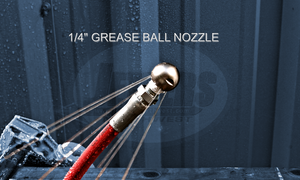 "1/4"" Grease Ball Nozzle"