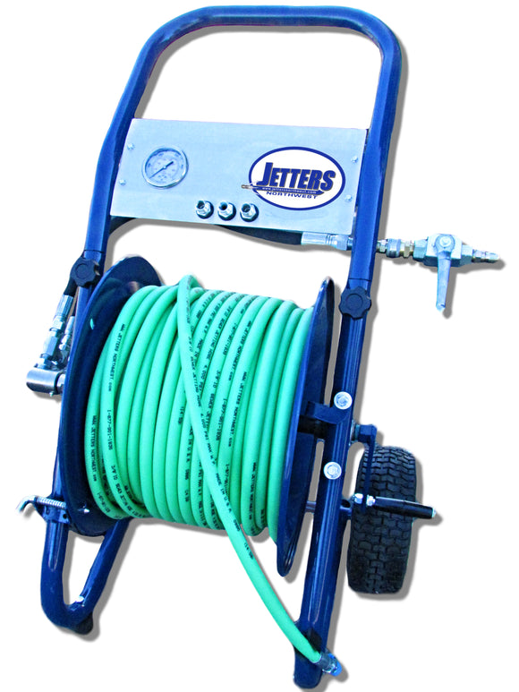 Portable Heavy Duty Deluxe Hose Reel (3/8