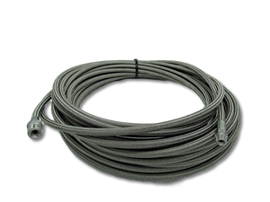 "3/16"" Stainless Steel Trap Hose"