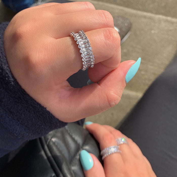 Diamonds Forever Ring