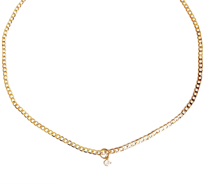 Diamond Chelsea Necklace