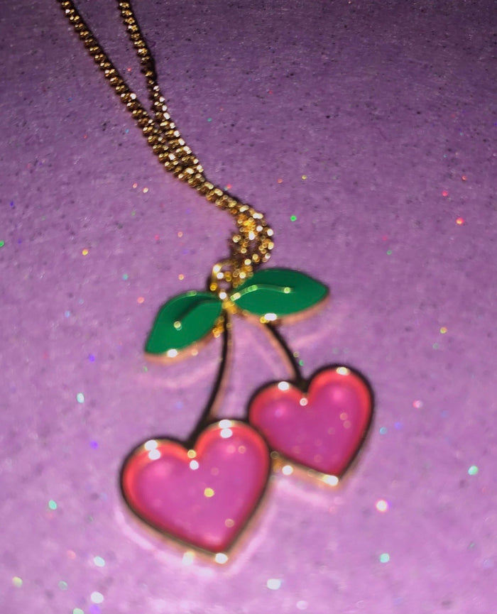 Cherry Cola Necklace