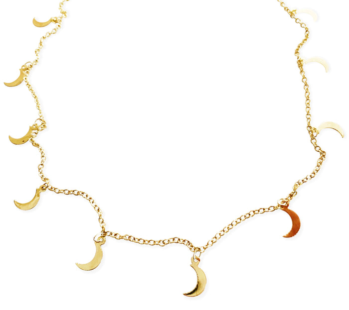 Ayla Moon Necklace
