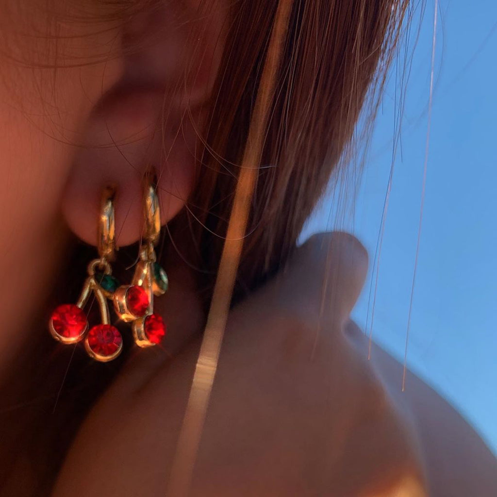 Cherry Pick Earrings