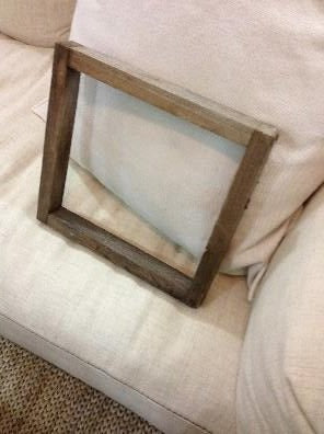 Weathered Wooden Frame