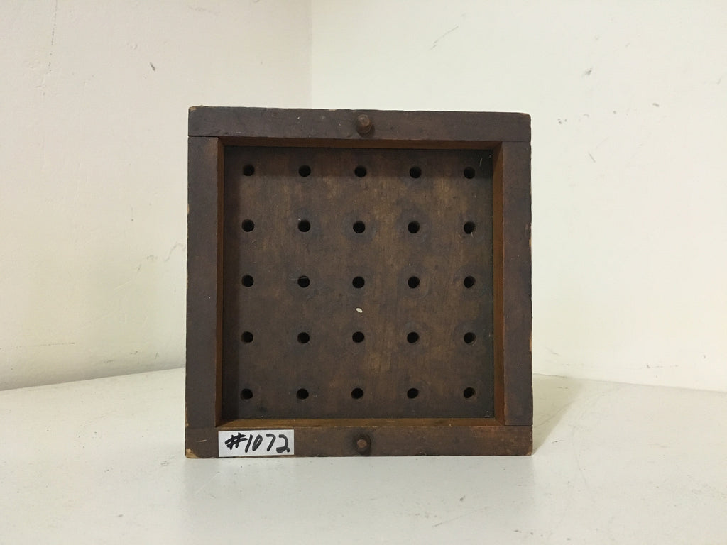 Small Wooden Mold