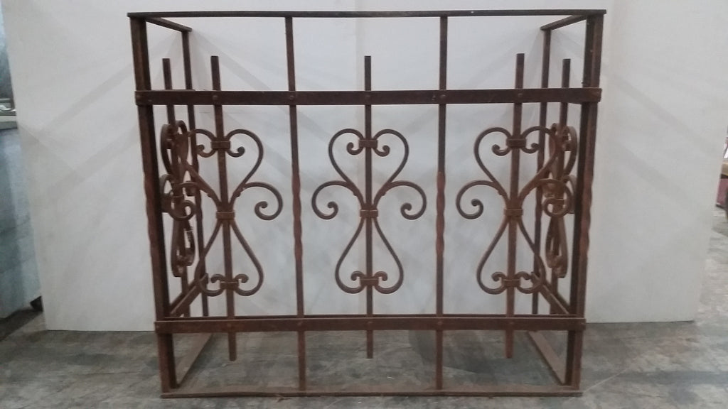 Architectural Iron Balcony Railing
