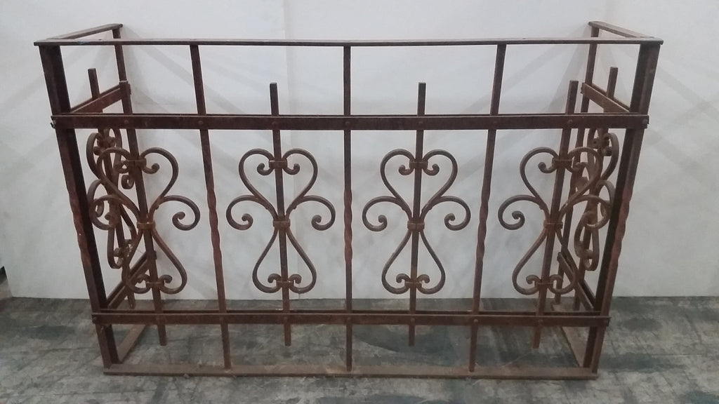 Architectural Iron Balcony Railing / Table Base