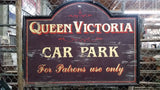 "Sign, ""Queen Victoria Car Park"""