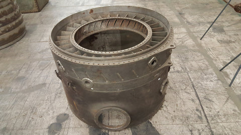 Airplane Jet Engine Piece for Table Base