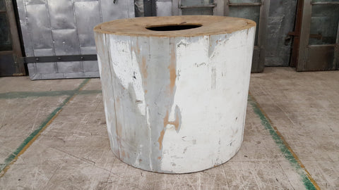 Wood Column Table Base