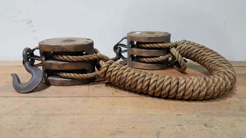 Double Pulley with Rope