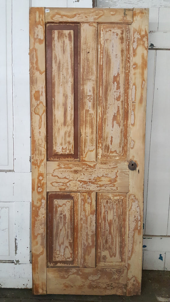 4 Panel Wood Single Door