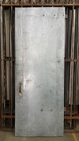 Industrial Metal Door