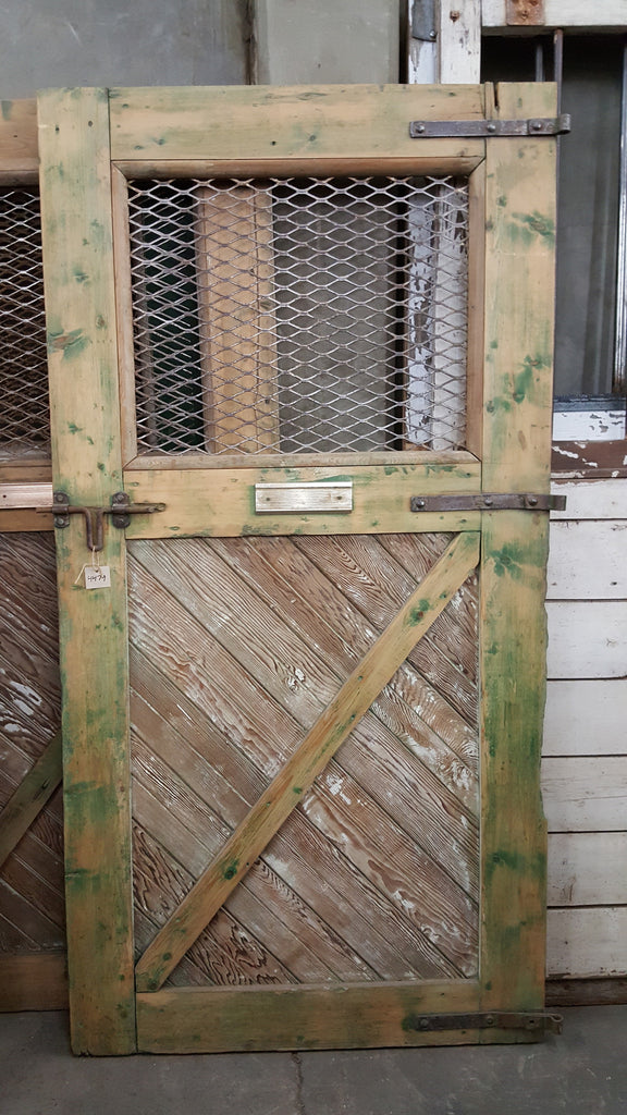 Rustic Green Single Stable Door