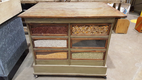 Grain Bin Counter/Kitchen Island