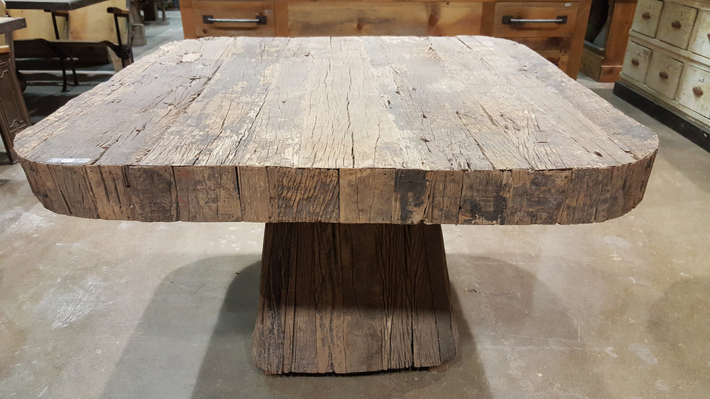 Table made from Elm Wood
