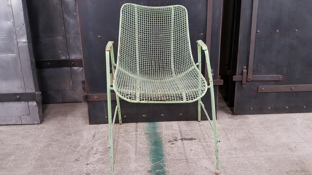 Pair of Woodard Wire mid Century Chairs
