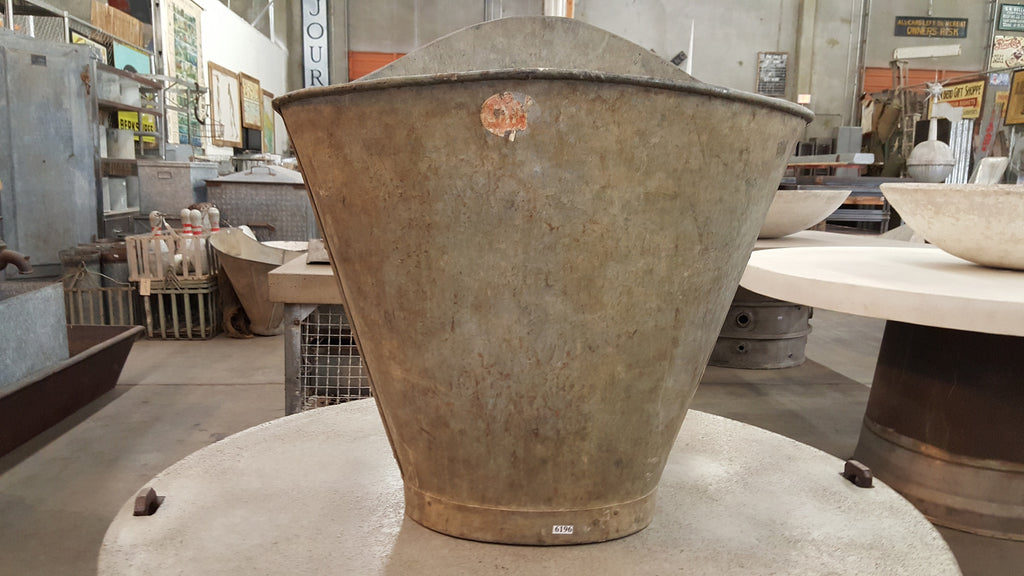 Zinc Grape Gathering Bucket