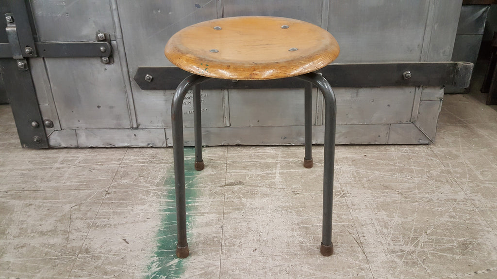 "Belgium Children's School Stool, ""1976"""