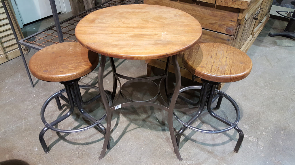 Table with Two Stools