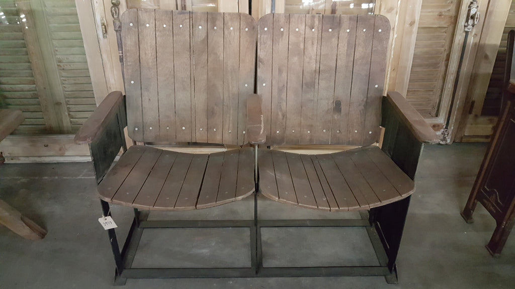 Wooden Stadium Seats