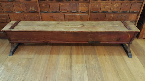 "Antique ""Dowagiac"" Seed Bench"