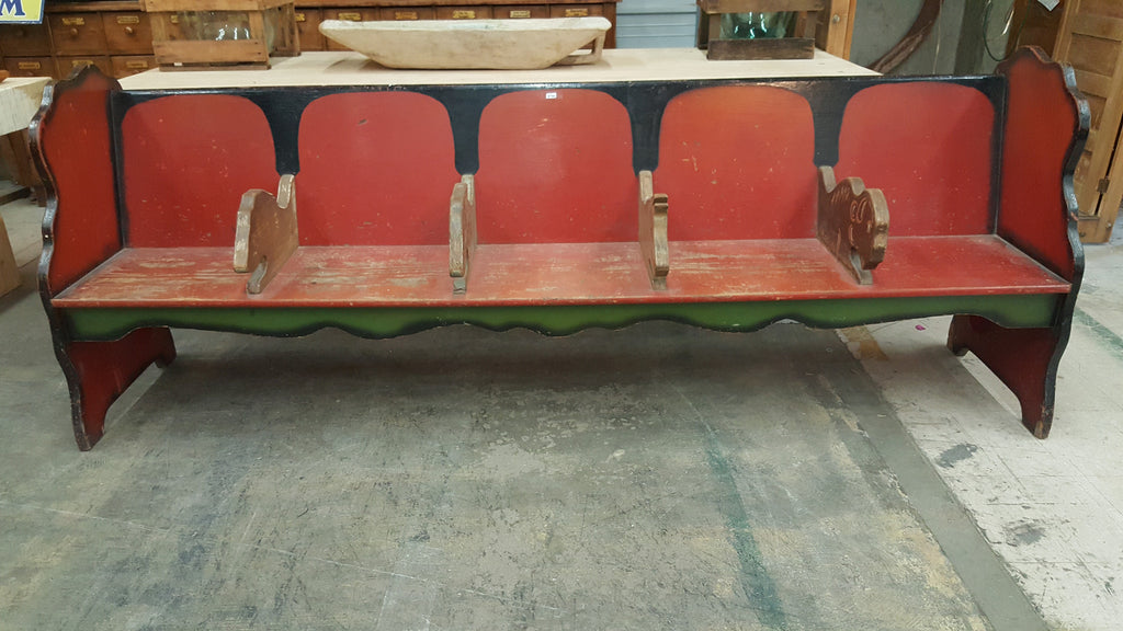 Buster Brown Show Store Bench