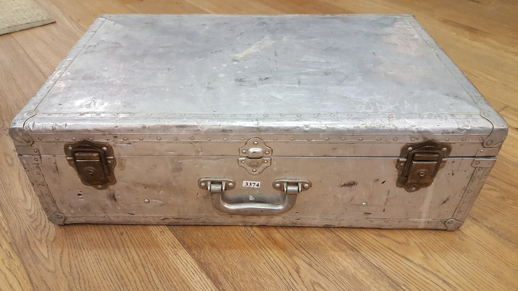 Riveted Aluminum Suitcase/Trunk