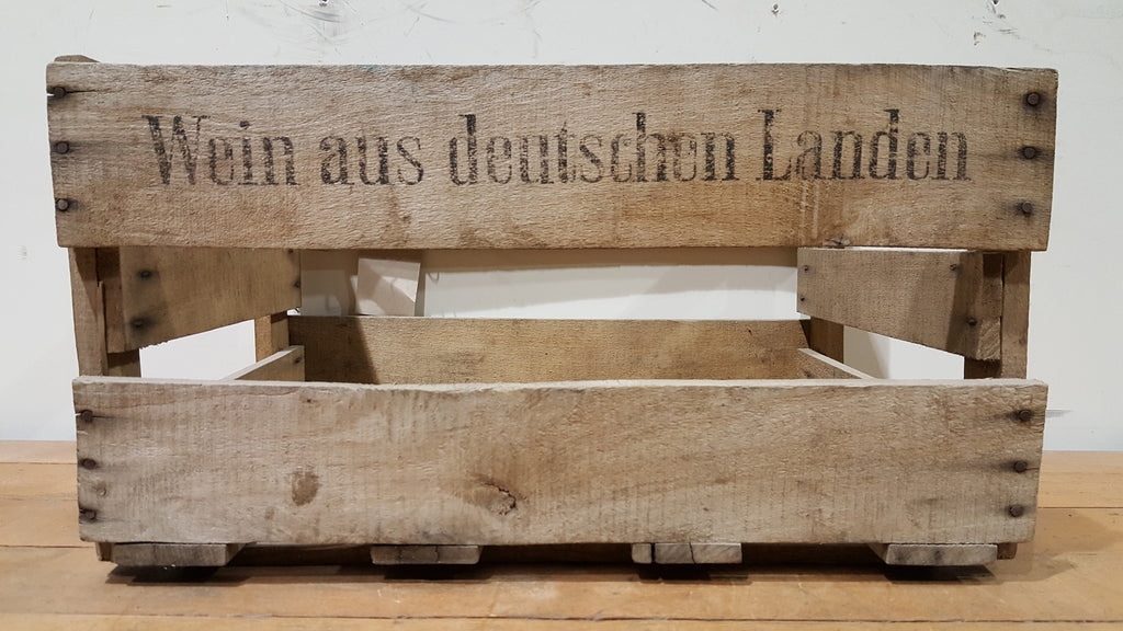 Wooden German Crate