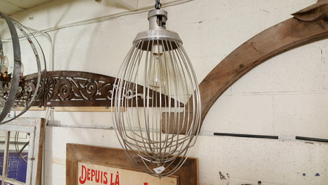 Re-purposed Commercial Whisk Light