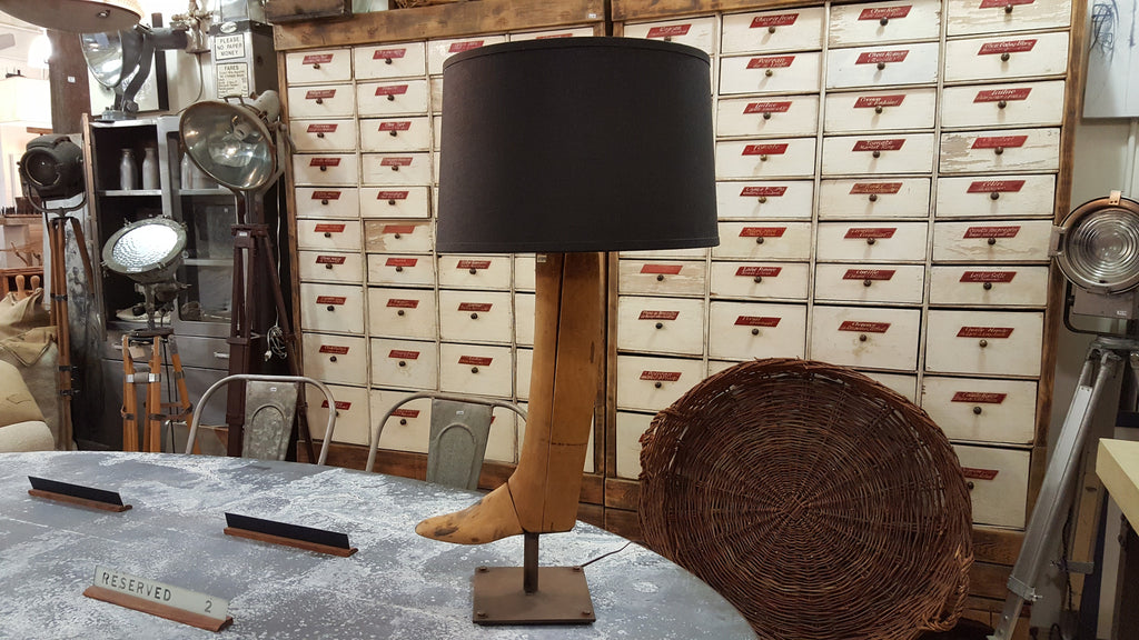 Boot Form Table Lamp