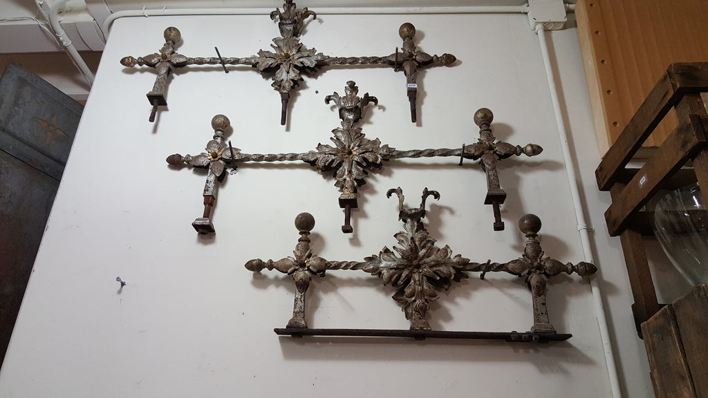 Antique Metal Pieces from a French Garden