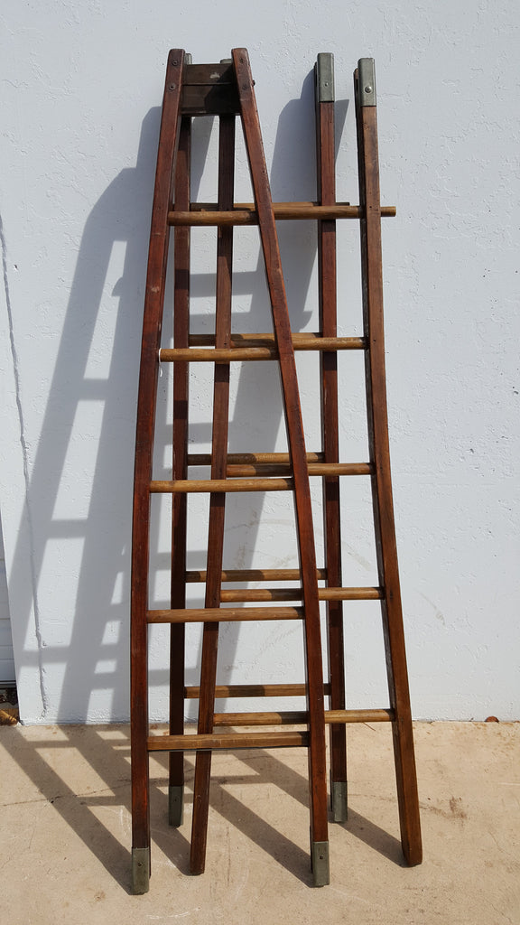 3 Section Apple Ladder