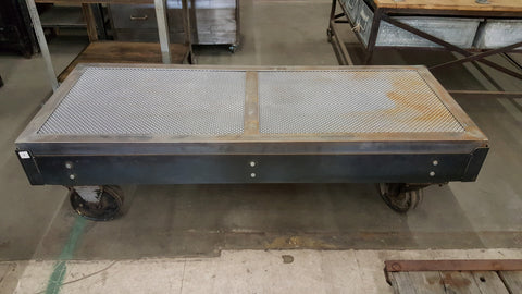 Coffee table with Metal Top