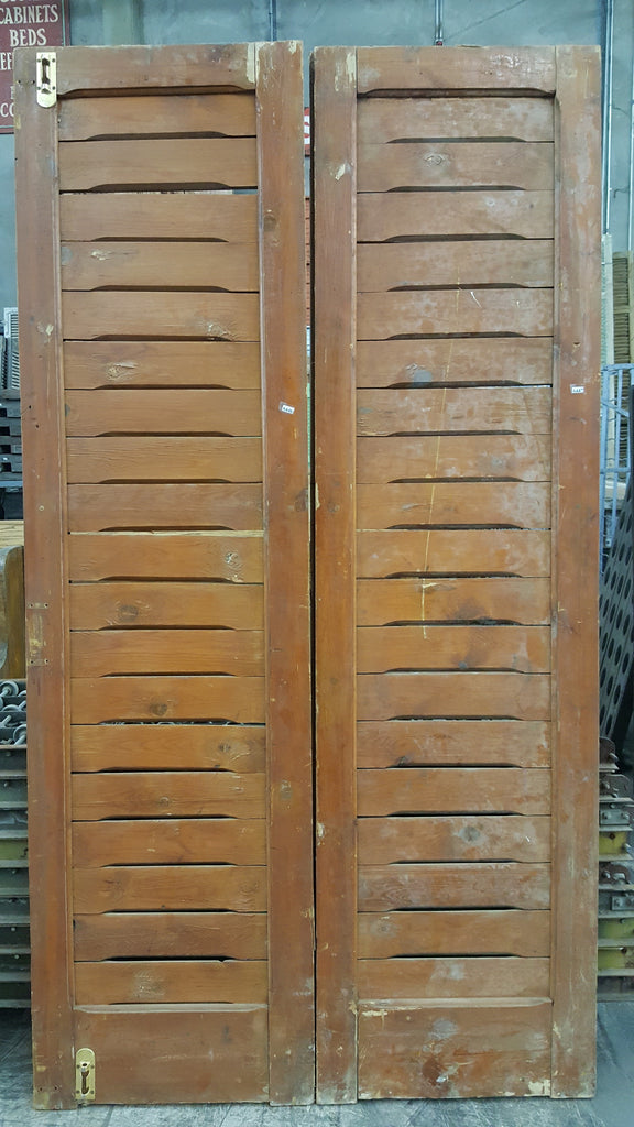 Pair of Wooden Shutters