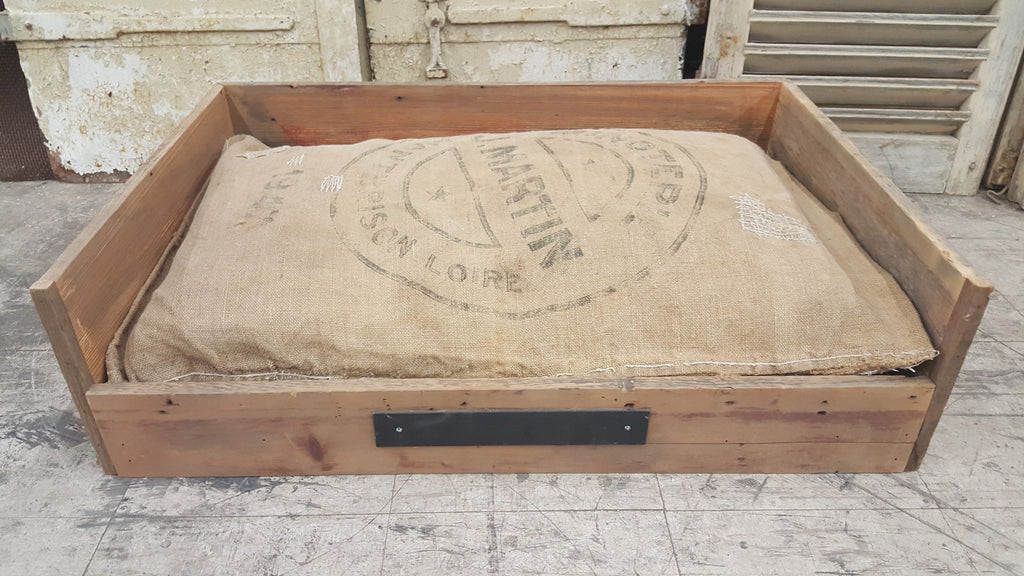 Repurposed Barnwood Dog Bed (Large)