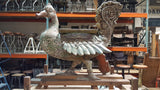 Wooden Carved Art Bird on Stand
