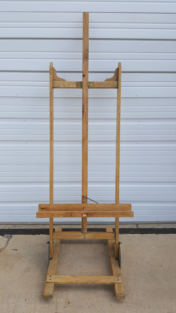 Antique Wooden Artist Easel