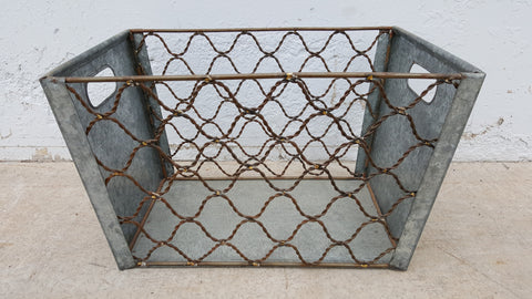 Zinc Wire Locker Baskets