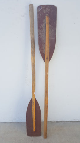 Decorative Wooden Paddles